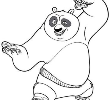 Kung-Fu baby